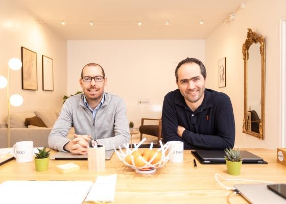 Sylvain et Benoit les deux fondateurs de Baqio