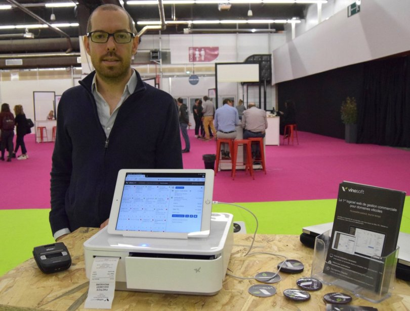Sylvain Gautier Fondateur Baqio à Food Use Tech à Dijon