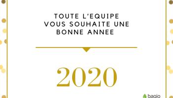 Les voeux 2020 de l'équipe Baqio