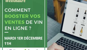 """Webinaire Baqio et AOC Conseils : """"Comment booster vos ventes de vin en ligne ?"""""""