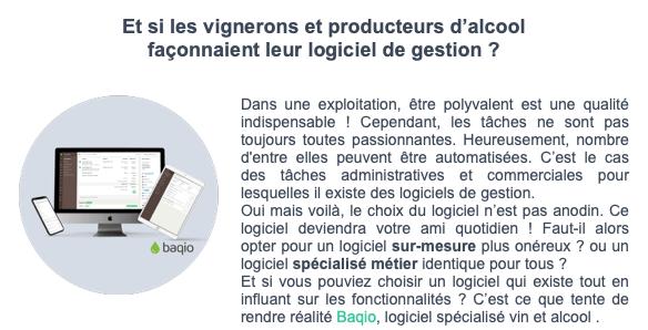 Resumé de l'article Baqio dans l'AGTu de La Ferme Digitale